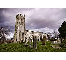 Church of St. Mary and St. Martin. At Blyth Photographic Print
