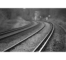 Sweeping tracks Photographic Print