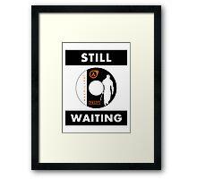 HL3 - Still Waiting Framed Print