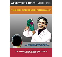 ADVERTISING TIP #1 - Using Science Photographic Print