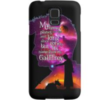 My Home Planet - Colour Samsung Galaxy Case/Skin