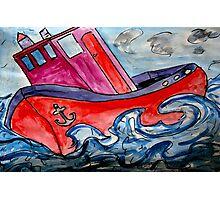 Tugboat Rock Photographic Print