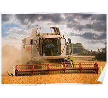 Bringing in the Harvest Poster