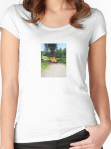 GOLFIRE Women's Fitted Scoop T-Shirt