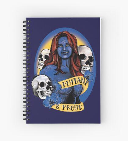 Mutant & Proud Spiral Notebook