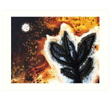 Abstract Landscape Art - New Growth - By Sharon Cummings Art Print