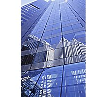 Architectural Blues Photographic Print