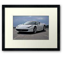 2015 Ferrari 458 Italia Framed Print