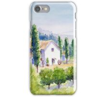 French vineyard iPhone Case/Skin