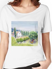 French vineyard Women's Relaxed Fit T-Shirt