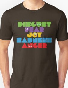 Inside Out - Stacked Emotions Unisex T-Shirt