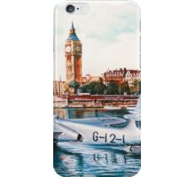 Flying Boat on the Thames iPhone Case/Skin