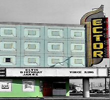 The Ector Theater by Carla Jensen
