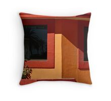 Mexican corner Throw Pillow