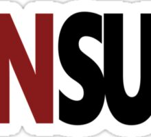 Criminal Minds Unsub Sticker