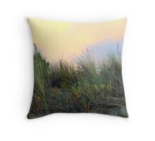 Reeds in the breeze Throw Pillow