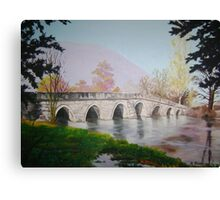 Roman Bridge,Ilidza,Sarajevo Canvas Print