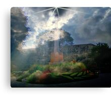The Power of the Cross  Canvas Print
