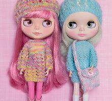 The pastel girls by Zoe Power
