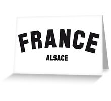 FRANCE ALSACE Greeting Card