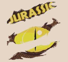 Raptor Eyes From Jurassic World by stefanimorse