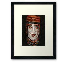 Buoyant Mad Hatter Framed Print