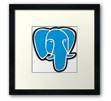 PostgreSQL Framed Print