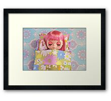 All tucked up Framed Print