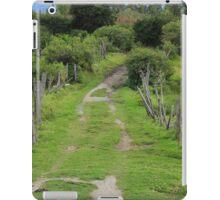Rural Driveway iPad Case/Skin
