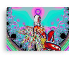 Chaos Fairy Canvas Print