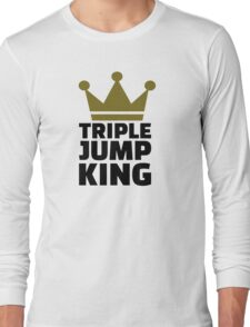 Triple jump king Long Sleeve T-Shirt