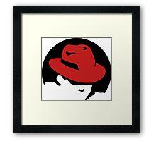 RedHat Framed Print