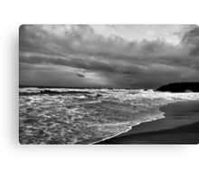 Approach of the Storm Canvas Print