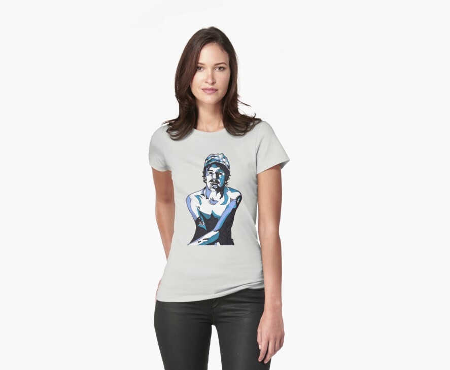 Elliott Smith t-shirt by Angelique  Moselle