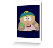 Doctor Who / South Park crossover Greeting Card