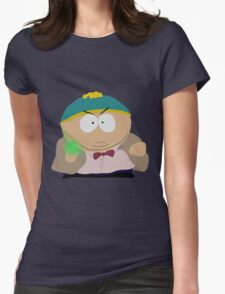 Doctor Who / South Park crossover Womens Fitted T-Shirt