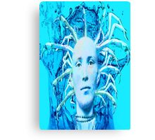 Blue Scorpion Canvas Print