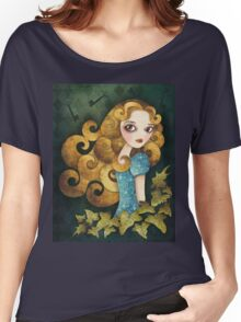 Alice T-shirt (w/background) Women's Relaxed Fit T-Shirt