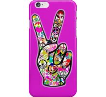 Peace Hippie Victory Fingers iPhone Case/Skin