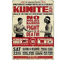 Kumite Photographic Print
