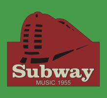 Subway Music 1955 Kids Tee