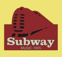 Subway Music 1955 Kids Tee