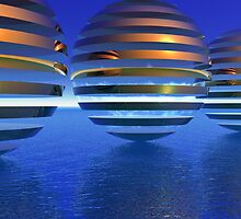 Spheres on Vacation by Lyle Hatch