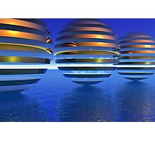 Spheres on Vacation Photographic Print