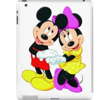 Michey Mouse and Minnie Mouse iPad Case/Skin