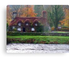 Tea Rooms in Llanrewst Metal Print