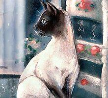 Cat's Fantasy by Robin Pushe'e