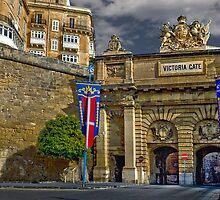 Victoria Gate, Valletta, Malta by Edwin  Catania
