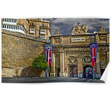 Victoria Gate, Valletta, Malta Poster