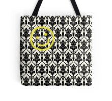 BBC Sherlock 'Bored Smiley Face'  Tote Bag